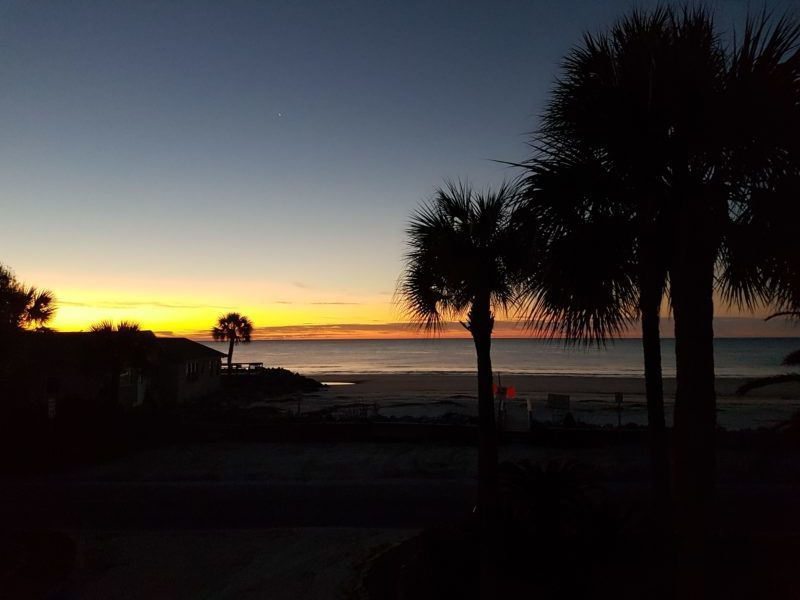 sunset Saint Simons Island