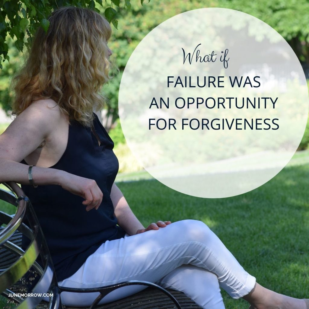 What if failure was an opportunity for forgiveness?
