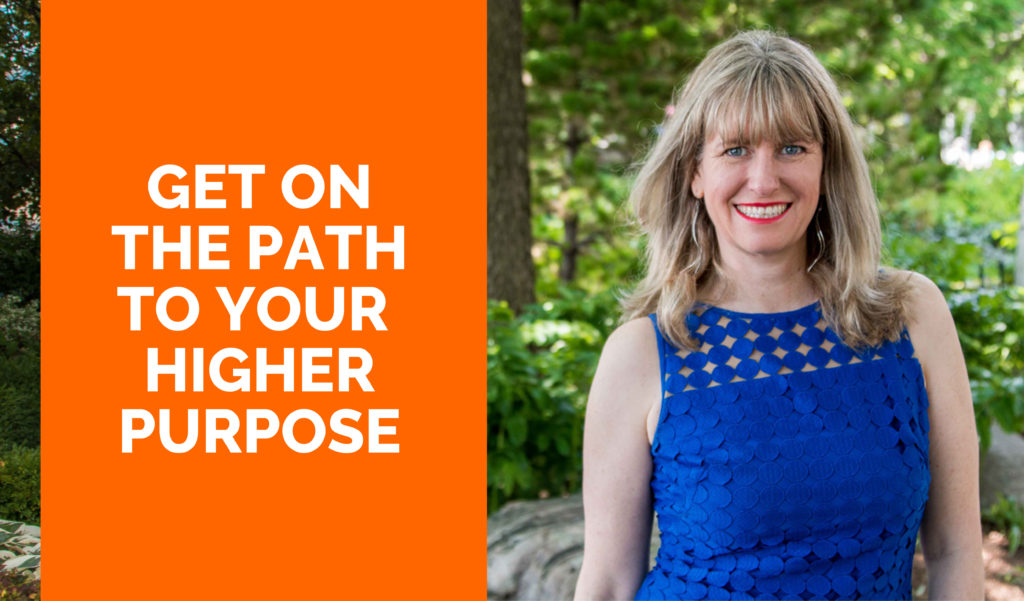 Get on the path to your higher purpose with June Morrow.
